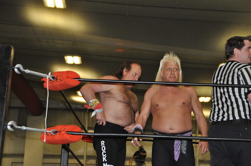 Robert Gibson and Ricky Morton of the Rock N Roll Express