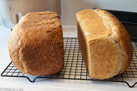 5 Surprising Reasons I Don't Bake Bread in My Bread Machine - comparing crust texture