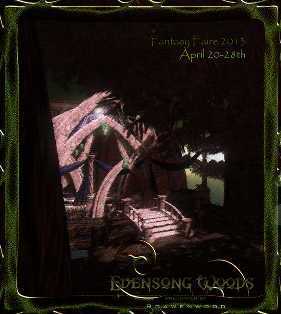Evensong Woods Teaser Pic - Fantasy Faire 2013