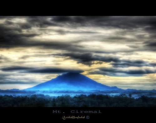 Mt. Ceremai by Karidah Nan Indah