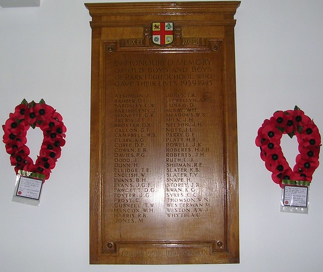 Old Parkonians Honours Board