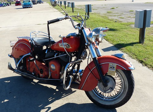 1953 Indian motorcycle