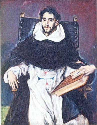 エル・グレコ「修道士オルテンシオ・フェリス・パラビシーノの肖像」1611年 by Poran111
