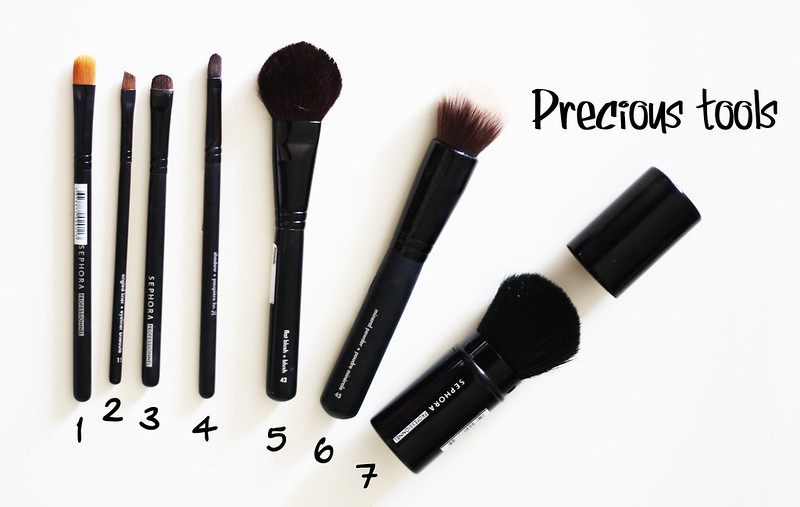 essential brushes for make up - pennelli base per il trucco