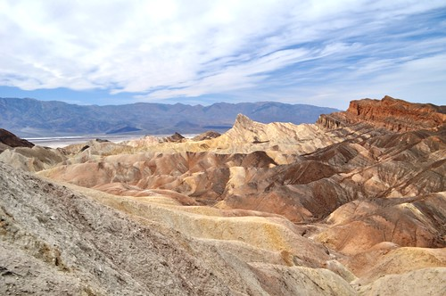 The Solo Travel Girl is as Unique as Zabriskie Point in Death Valley National Park, Calif.