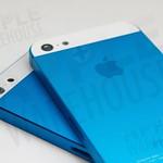電鍍深藍、淺藍搭配白玻璃