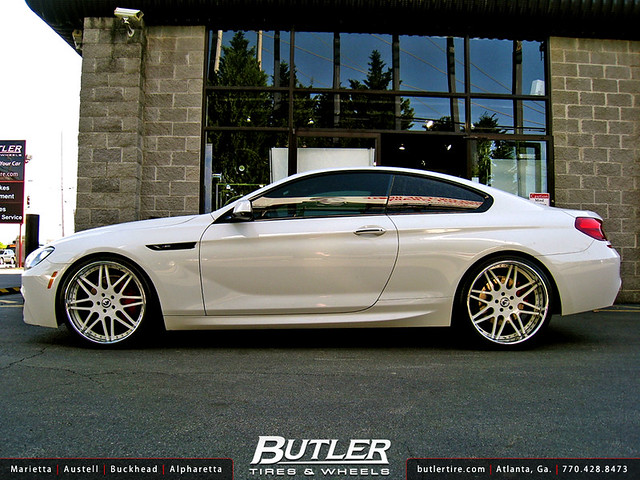 BMW 650i With 22in Forgiato Pinzette Wheels Flickr