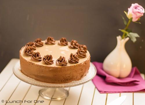Mango Schokoladen Espresso Torte (1 von 1)