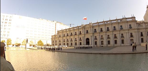 Santiago - Troca de Guardas