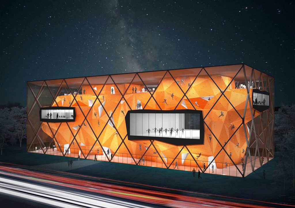 Collider Activity Center design by Radionica Arhitekture