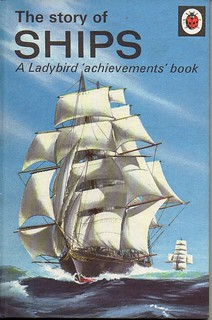 THE STORY OF SHIPS Vintage Ladybird Book Achievement Series 601