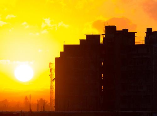 sun sunrise gold mozambique beira sofala