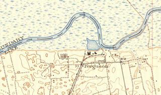 Ferguson USGS Topo Map 1942