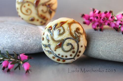 Ivory bead