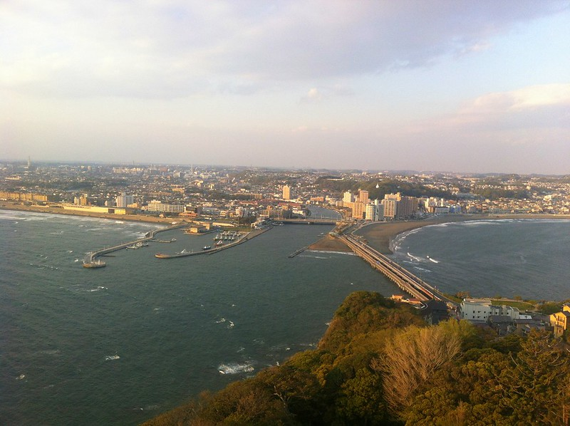 view from Enoshima Tower