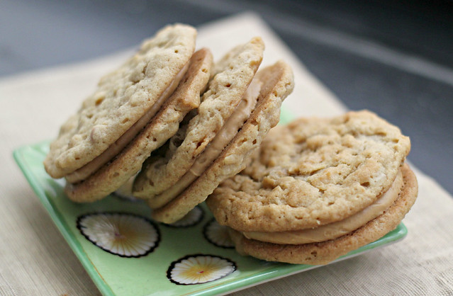 "Peanut Butter Sandwich Cookies (""the nora ephron"") 