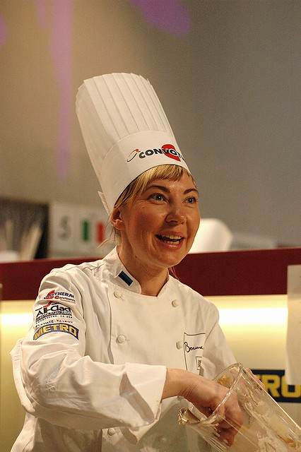 La chef estone Heidy Pinnak- Bocuse d'or