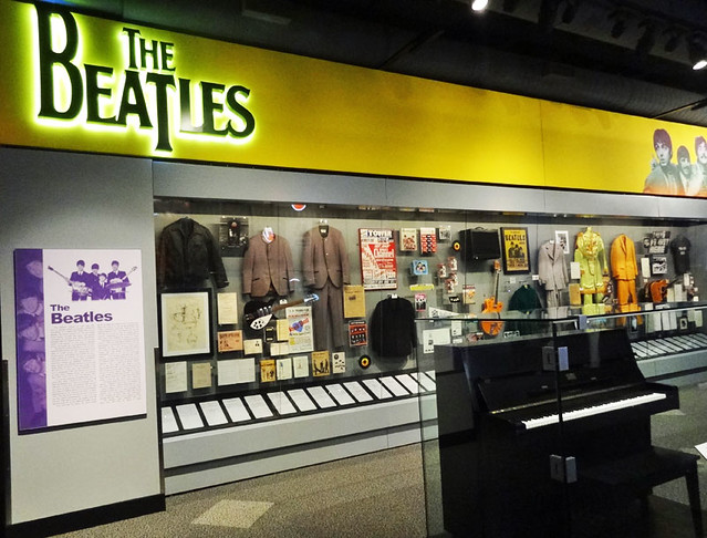 beatles-rock-hall-exhibit