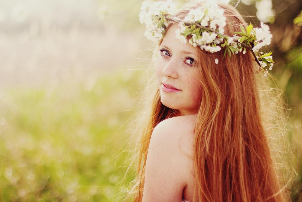 Spring in her veins