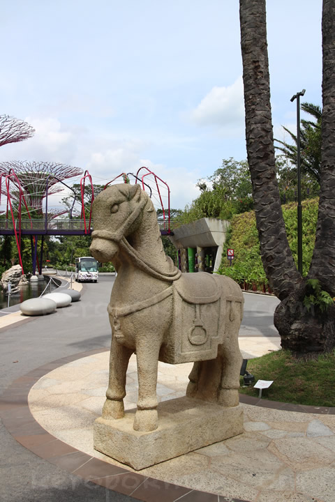 Colonial Horse, Gardens by the Bay
