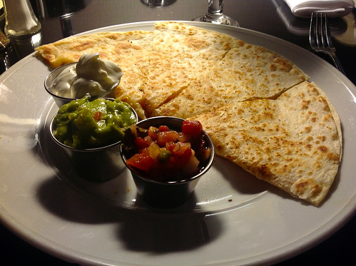 Sheraton LAX Room Service - Quesadillas