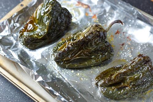 roasted poblano chiles
