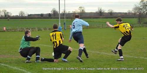 Cliffe FC 3 - 0 Stamford Bridge 24Apr13
