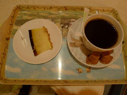 咖啡蛋糕@砂點民宿