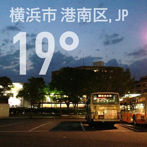 雨を覚悟してたのでラッキー(風は強い)! #weather #instaweather #instaweatherpro  #横浜市港南区 #日本