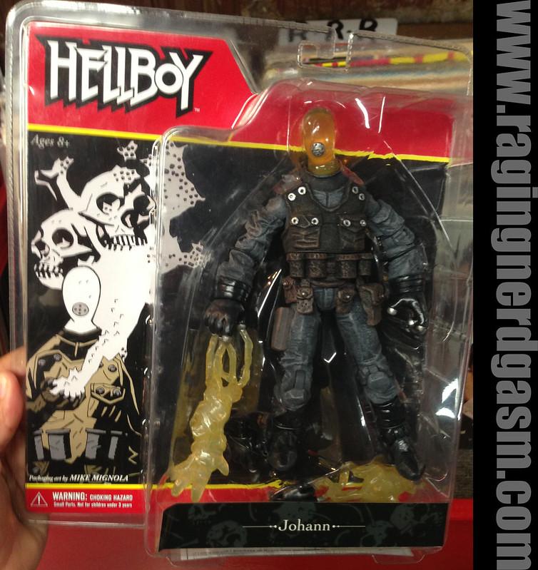Mezco Present Hellboy Comic Book Style Figures Johann