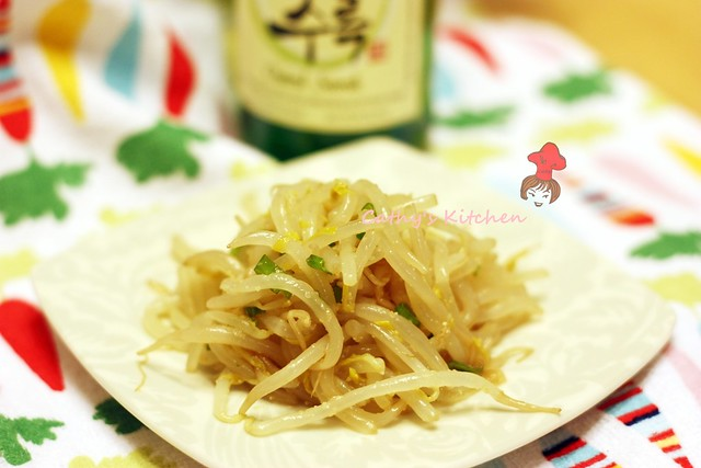 韓式涼拌豆芽 Soybean Sprout MuChim  3