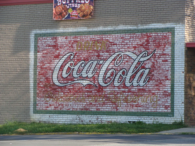 buffalo wings with coca cola wall mural flickr photo