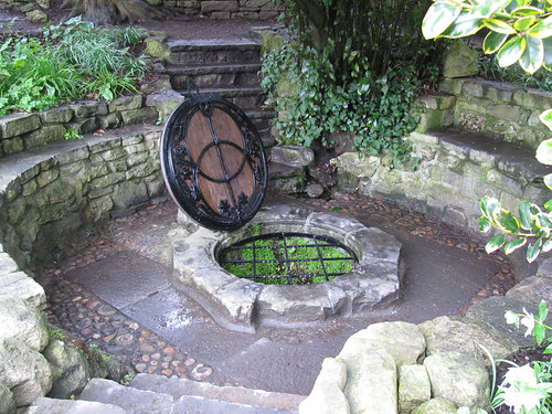 Chalice Well in spring by jackiesjottings