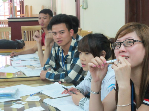 Volunteer in Hanoi