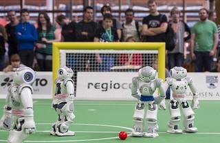 【高清组图】德国举办2013年机器人世界杯赛