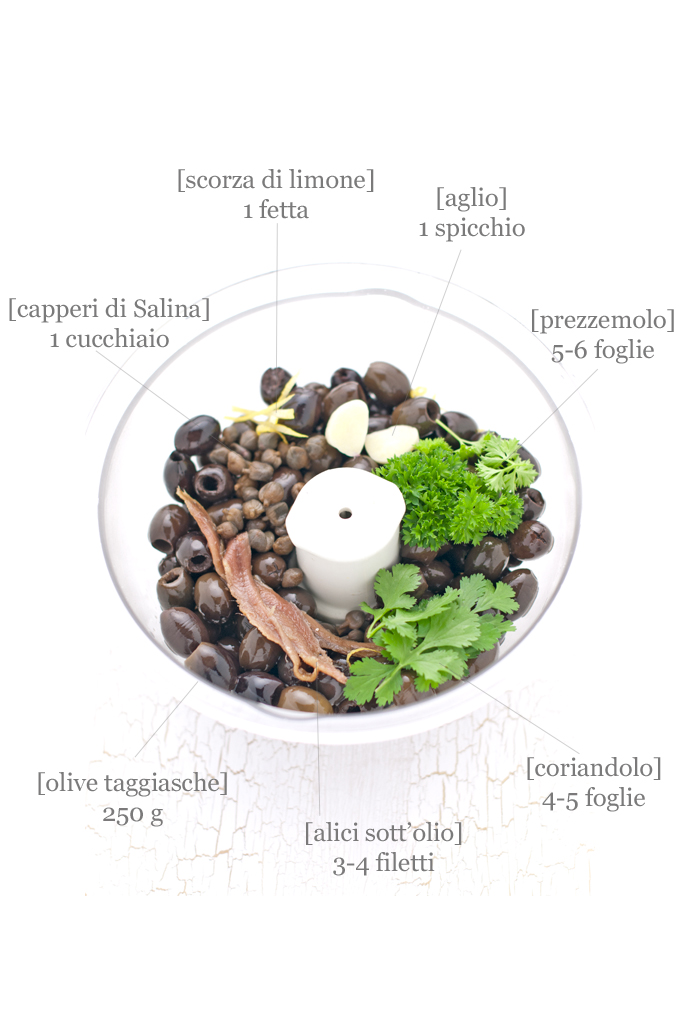 tapenade ingredienti