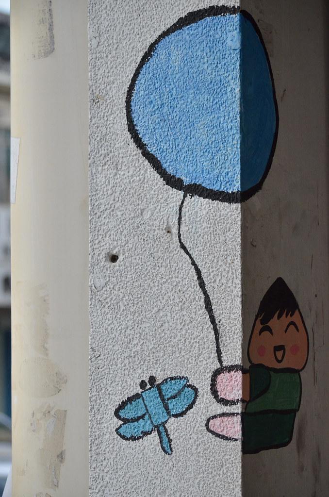 Street Art of Georgetown 槟城乔治市的街头埤画