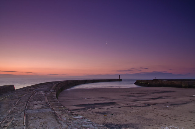 Seaham Harbour Sunrise.