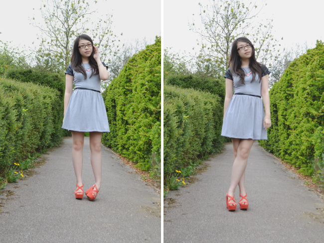 Daisybutter - UK Style and Fashion Blog: what i wore, she likes, fashion blogger, ootd, british style, zara wedges, leather accents