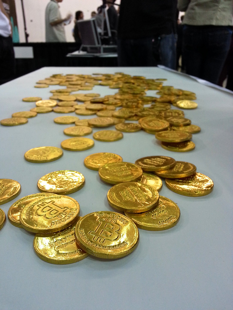 Chocolate Bitcoins