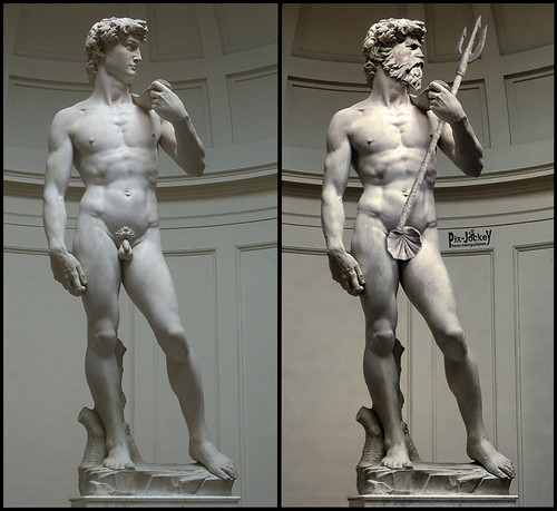David Before and After