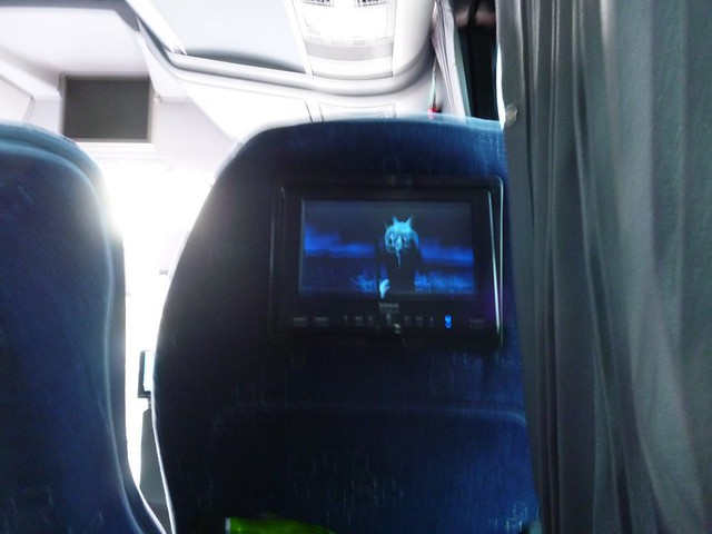 Turkish shows on the bus