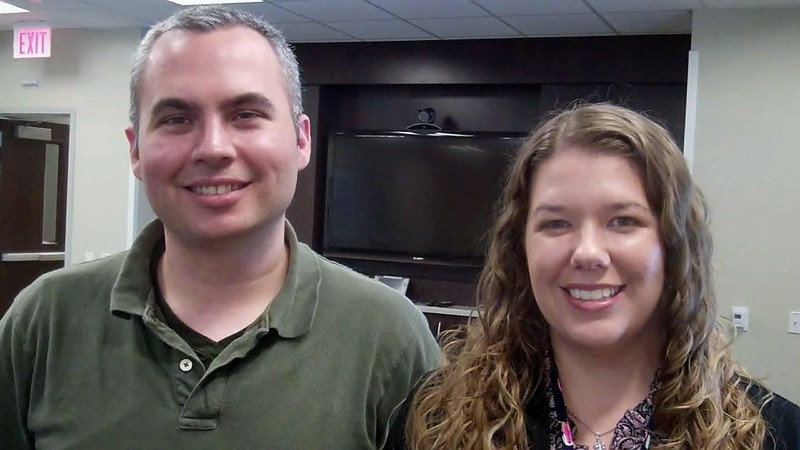 Steven Blackburn—Vocational Nurse with Towncenter-Neuro/Pain, and Megan Kennedy— Vocational Nurse with Towncenter-Internal Medicine