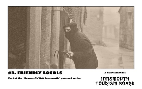 Innsmouth Tourism Board 03 - Friendly Locals