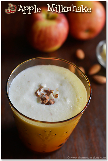 Easy Apple Milkshake