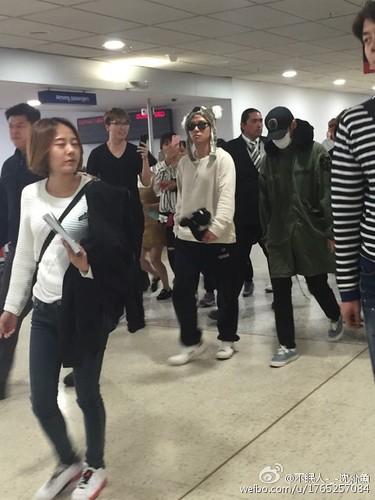 BIGBANG arrival Melbourne 2015-10-20 (29)