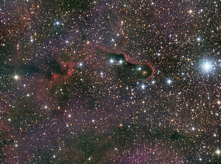 IC1396A - The Elephant's Trunk