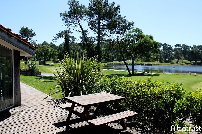 photo du golf Golf De Pinsolle - Parking