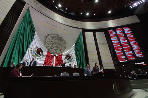 El día 27 de septiembre del 2016 se llevó a cabo la sesión ordinaria de la H. Cámara de Diputados.