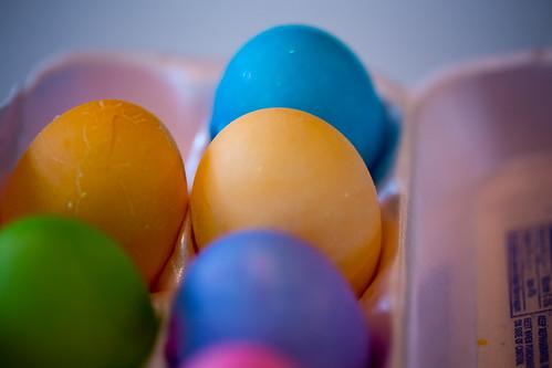Eggs by bump